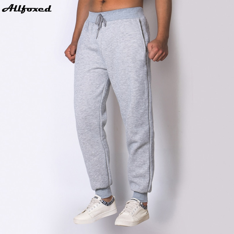 Мужские спортивные штаны для бега, однотонные с кулиской, теплые спортивные брюки, повседневные штаны для бега, мужские брюки для мужчин, му...