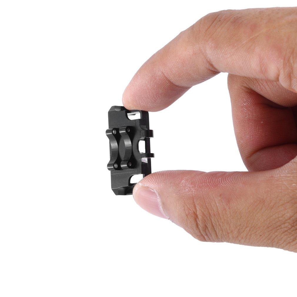 Soporte de Metal para servomontaje... piezas de mejora para 1/24 RC SCX24...