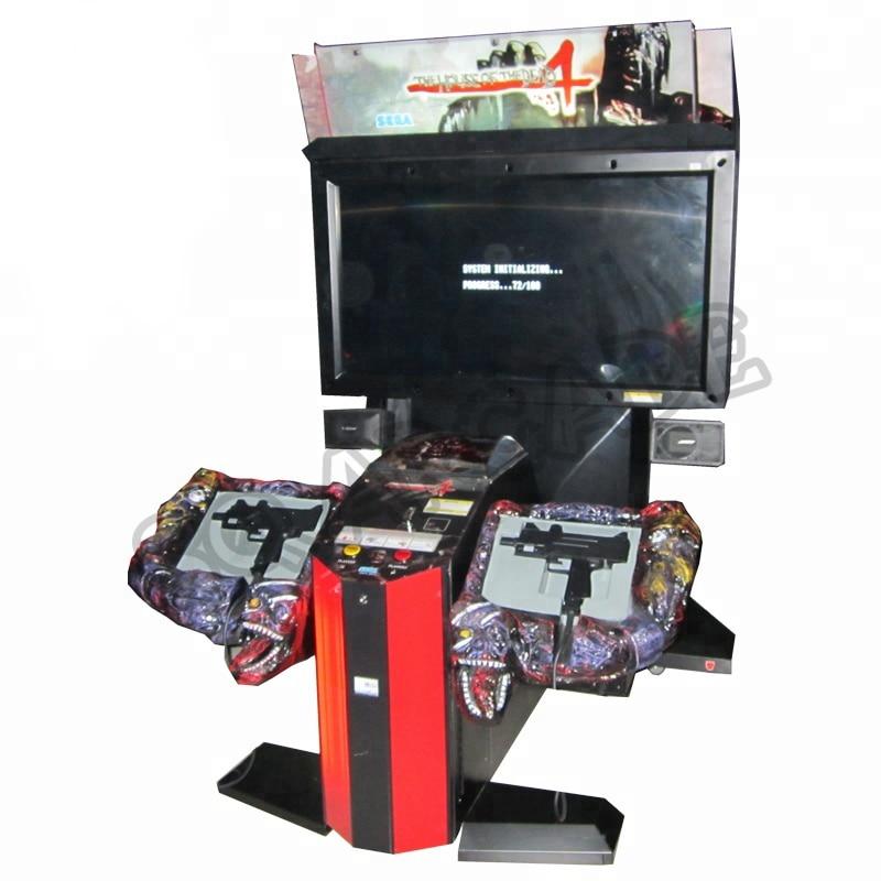 2 pièces la maison de Dead 4 pistolet simulateur de tir Arcade jeu Machine pièces de pistolet en plastique pour équipement damusement à pièces