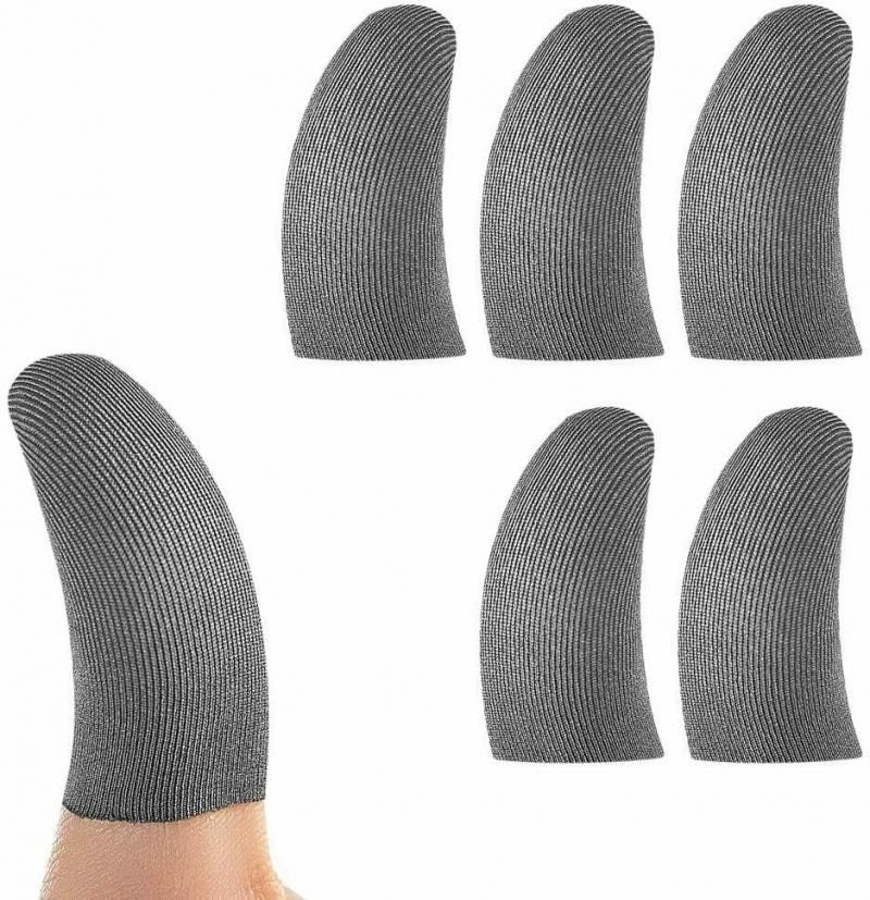10pcs/6pcs/2pcs Mobile Games Finger Sleeve Smoothy Screen Gaming Controller Touch Screen Mobile Games Accessories For PUBG COD general mobile games joystick touch screen rocker controller