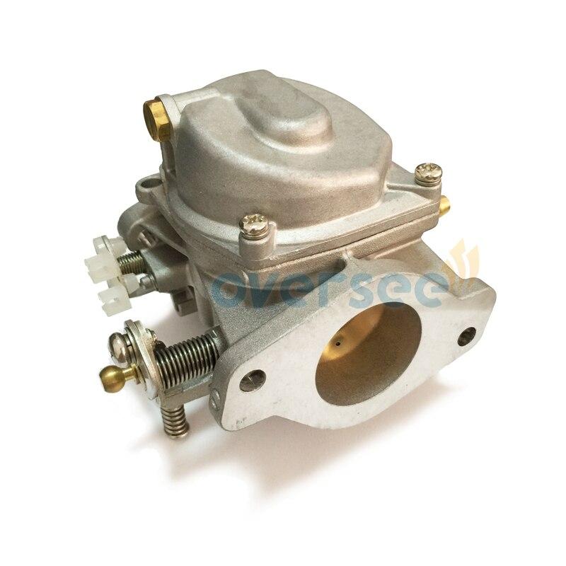3pcs/set Boat Carburetor Marine Carb Assy For Yamaha 60HP E60M Outboard Engine Parsun T60 Boat Motor aftermarket parts 6K5-14301 enlarge