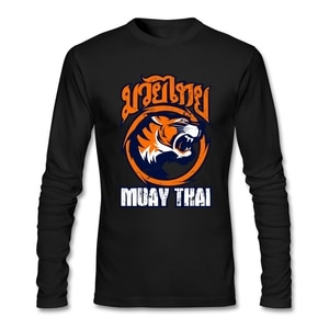 Street Wear Fashion Tiger T Shirt Long Sleeve Men T Shirt Hipster Funny O-neck Cotton Tee Shirts For Boys Fans Clothing
