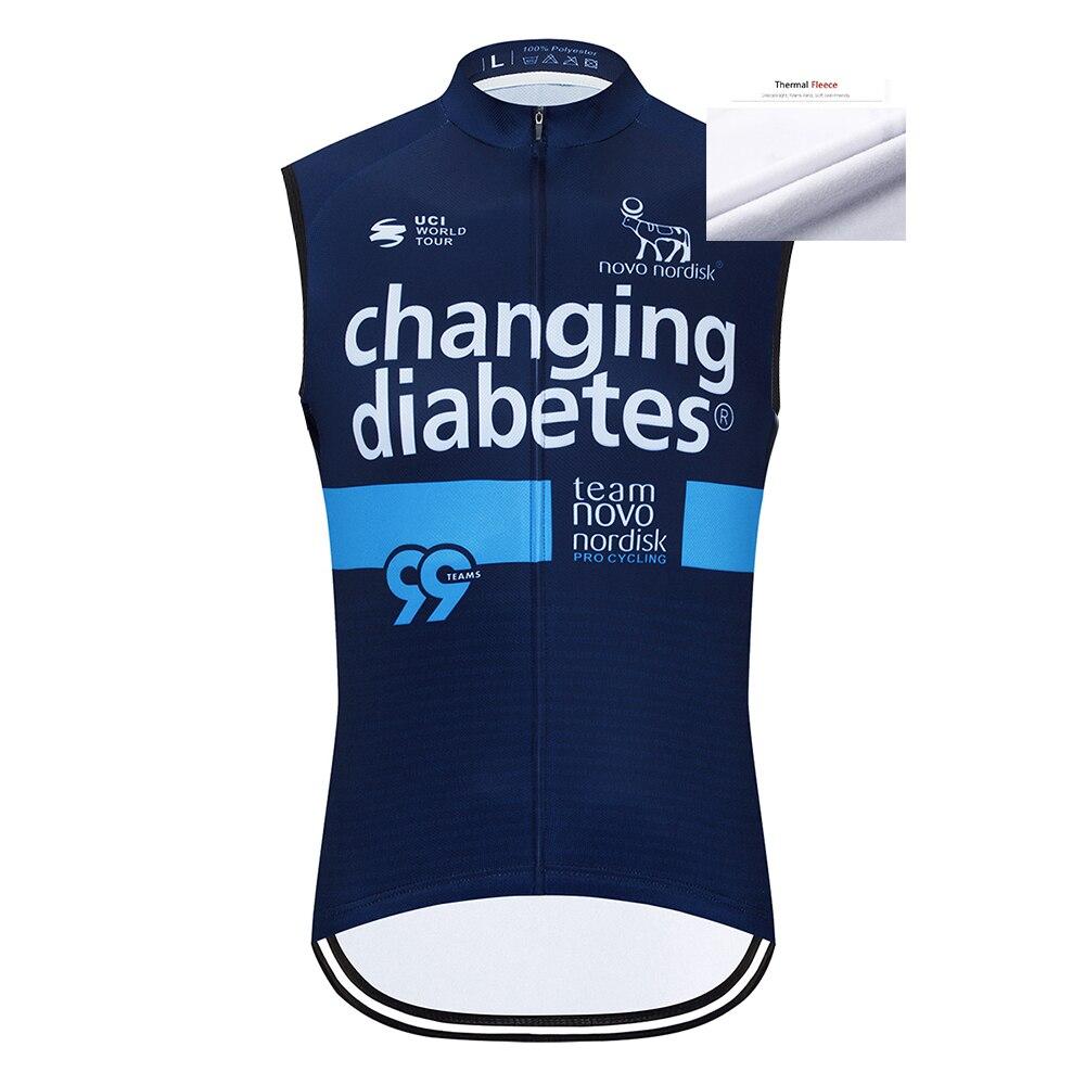 Maillot de Ciclismo para Invierno, chaleco sin mangas, camiseta de Ciclismo, ropa...