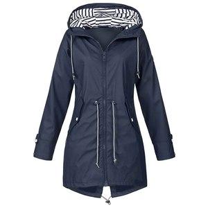 VIP Fastship Women Raincoat Outdoor Camping Windproof Jacket Coats