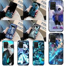 HPCHCJHM papyrus sans doggo Coque Shell Phone Case for Samsung S20 plus Ultra S6 S7 edge S8 S9 plus