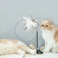%d0%b8%d0%b3%d1%80%d1%83%d1%88%d0%ba%d0%b8 cat stick feather bite resistant with bell suction cup for relaxation lazy wire automatic cats toys supplies lovely
