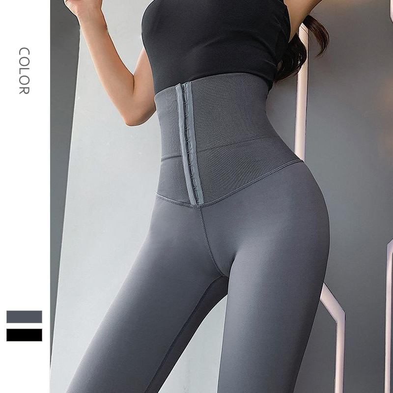 Women Yoga Pants Elasticly Sport Leggings High Waist Compression Tights Jogging Pant Push Up Running Female Gym Fitness Trouser