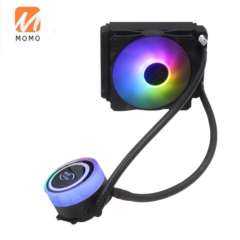 RGB-вентилятор охлаждения 120x120x15, кулер, Водяной кулер для ЦП, ПК, водяное охлаждение, низкая цена