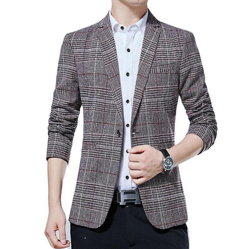 Blazers marca jaqueta masculina blazer terno festa de casamento blazer para masculino anti-rugas M-5XL