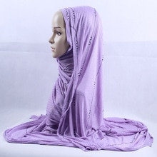 200x120cm KASHKHA Maxi Hijab écharpe châle pour les femmes musulman modestie Turban foulard exquis strass rayure étole tête enveloppement