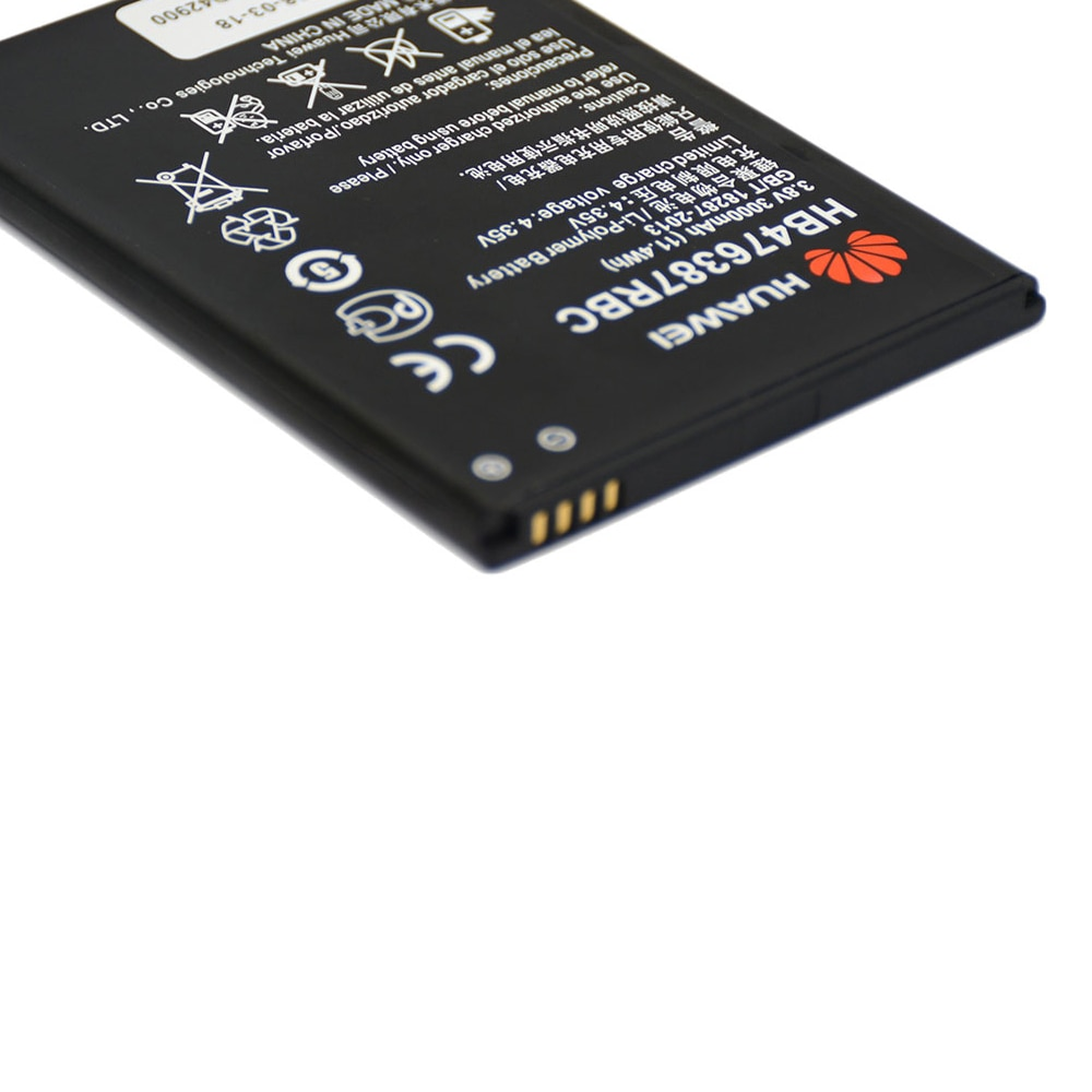 20pcs/lot Battery HB476387RBC For Huawei Honor 3X G750 B199 Original High Quality Replacement Phone Bateria 3000mAh enlarge