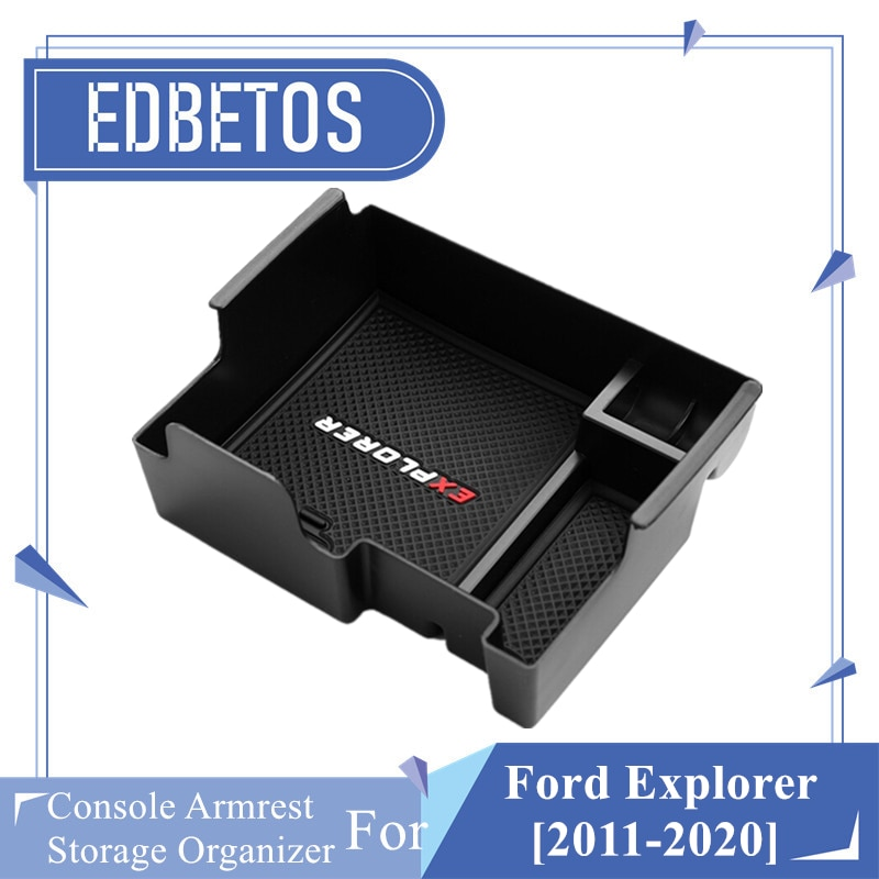 Explorer Armlehne Box Für Ford Explorer 2011-2020 Center Konsole Organizer Fach Explorer Halter Fall 2014 2015 2016 2017 2018