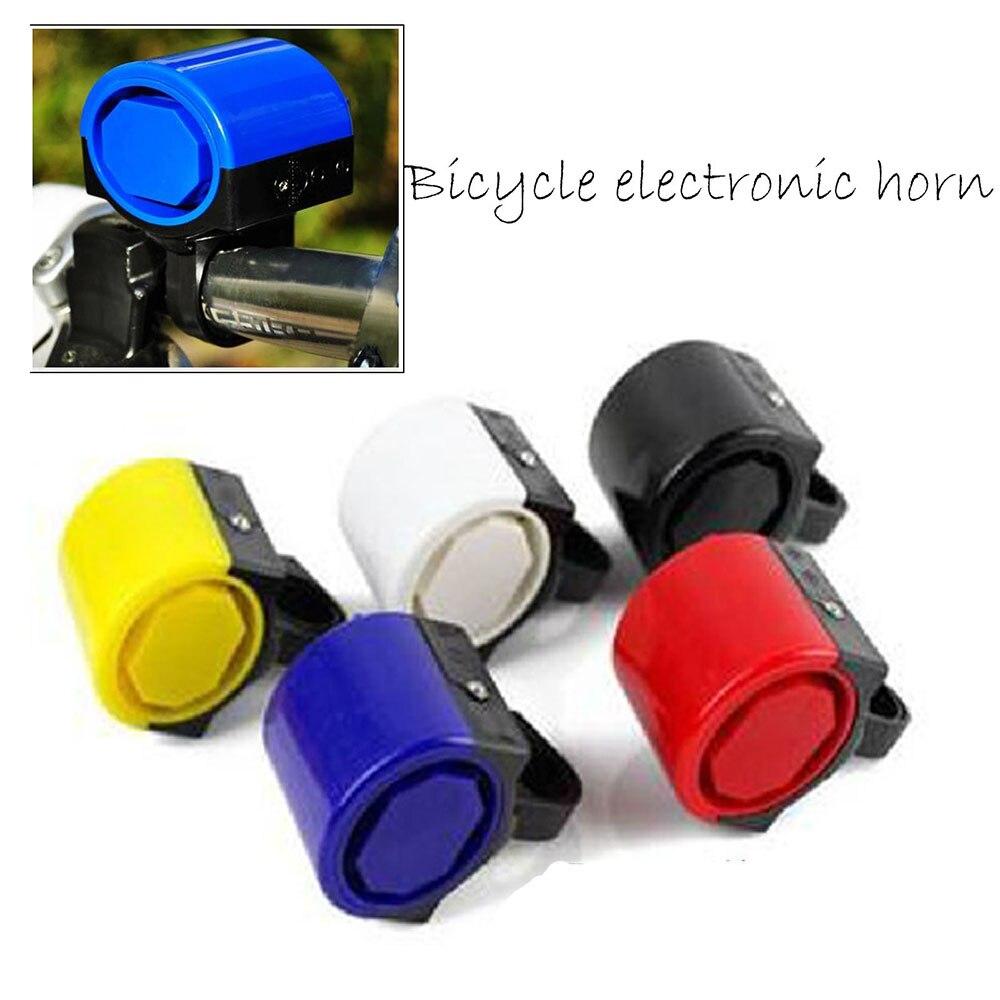 Bicicleta eletrônico Da Bicicleta Ciclismo Despertador Loud Sino Buzina Powered By 2x AAA Bateria preto/Azul/cor Vermelha для велосипеда Acessórios