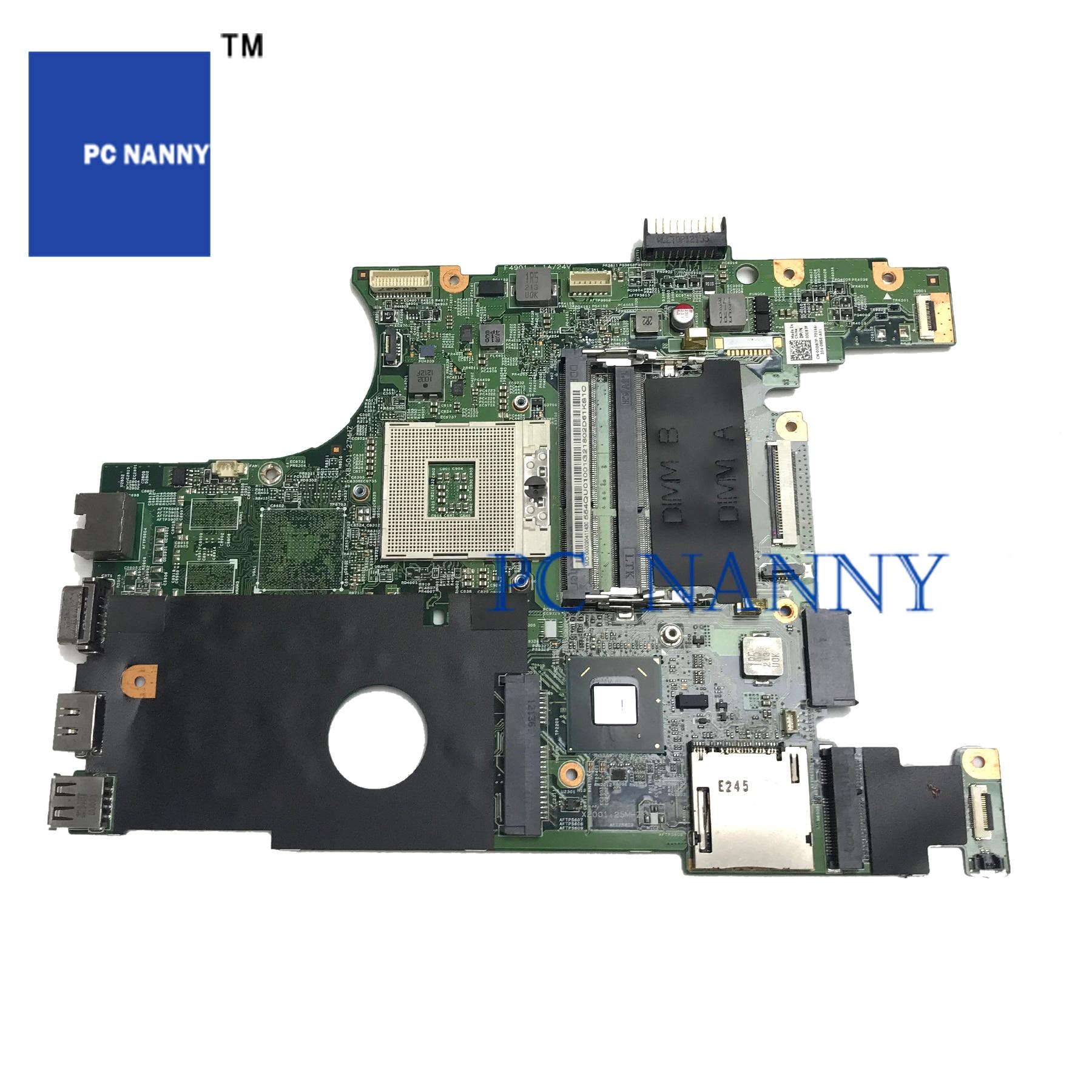 PC NANNY FÜR DELL INSPIRON N4050 laptop motherboard 03D87F 3D87F HM65 DDR3 getestet