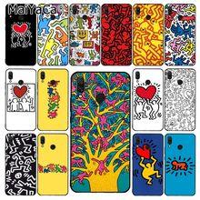 MaiYaCa Keith Haring art Print Phone Case for Xiaomi Redmi8 4X 6A 9 8A Redmi 5 5Plus Note7 8Pro 7A 6A 9 9pro