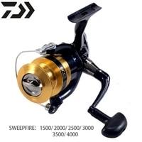 daiwa sweepfire 2b spinning reel 1500 4000 spool 2kg 6kg power for beginner fishing reel molinetes freshwater saltwater wheel