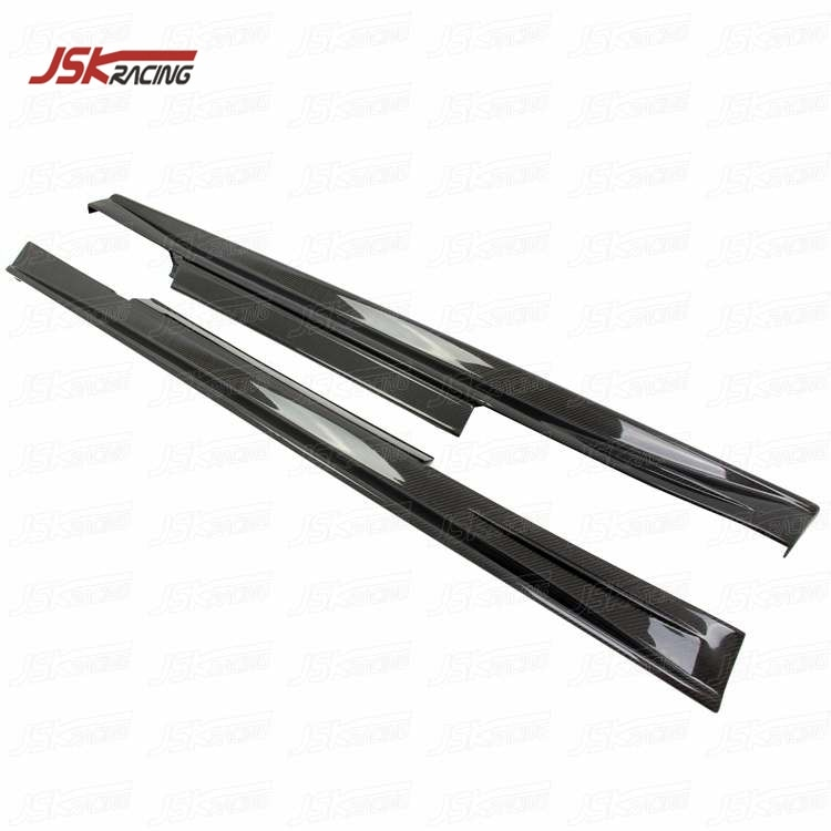 Falda lateral de fibra de carbono estilo JSK 2008-2016 para NISSAN GTR R35(JSKNSR508098)