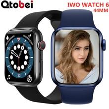 2021 Dial Call IWO Smart Watch Men 1.75 Inch Sport Smartwatch Women Heart Rate Monitor Watches For I