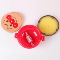 baby spill proof biscuits snack cup cartoon infant double handle feeding bowl