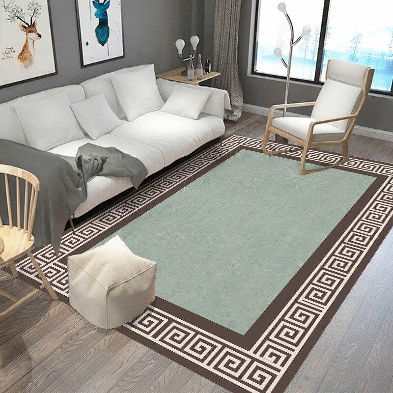 عالية الجودة غرفة المعيشة سجادة غرفة النوم موضة السجاد وسادة التقليدية الكلاسيكية الصينية السجاد المضادة للانزلاق يمكن تخصيصها