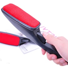 Portable Lint Remover Brush Rotatable Garment Brush Anti static Fur Dust Hair Remover Brush for Sofa