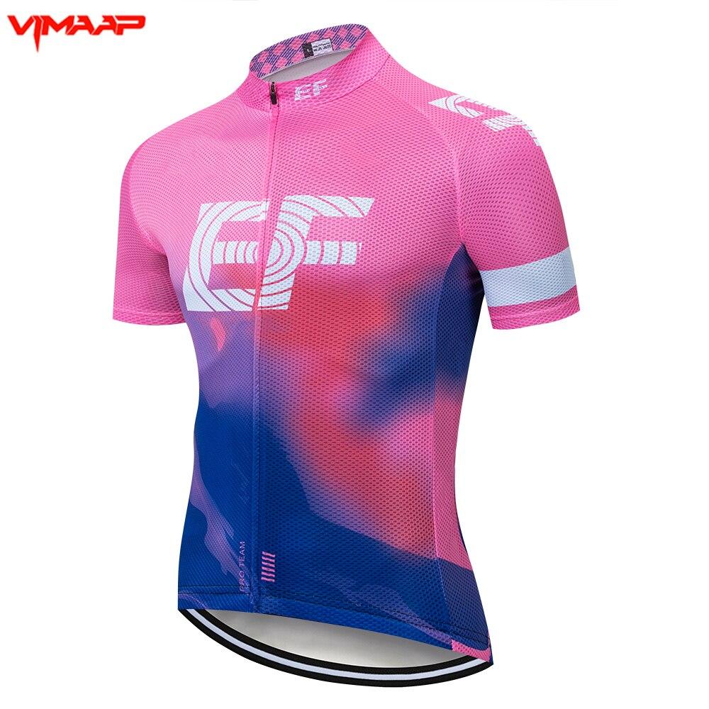 2021 nuevo equipo EF jersey de ciclismo bicicleta corta de manga larga...
