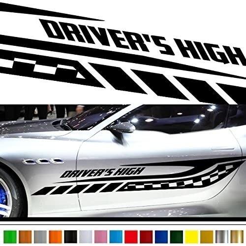 Клетчатая Автомобильная Наклейка виниловая боковая графика 208/Автомобильная виниловая/пользовательская наклейка s/наклейки