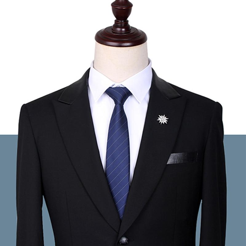 Brand New Mens Classic Business Tie High Quality 7CM & 6CM Ties For Men Fashion Formal Neck Tie Gentleman Work Party Necktie