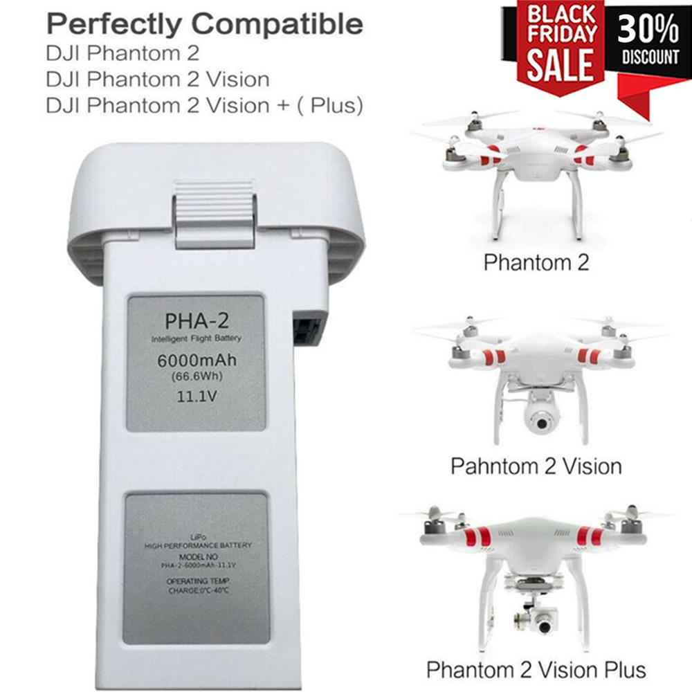 Batería de polímero de litio para Dron DJI Phantom2, batería de repuesto...