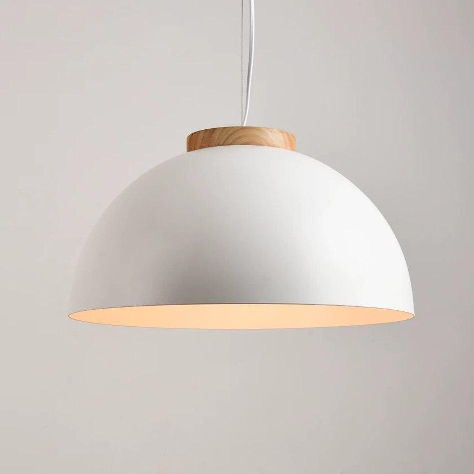 الحديثة الخشب قلادة led أضواء ضوء مطبخ تركيبات Lukloy الحديثة قلادة مصابيح السقف لوفت للمطبخ الشمال شنق مصباح