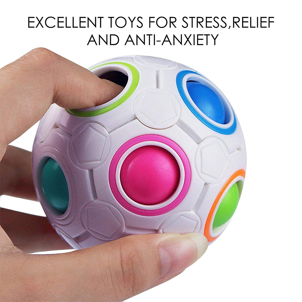 20/22/23pcs Fidget Toys Anti Stress Stretchy Strings Mesh Marble Relief Gift For Adults Children Sensory Antistress Relief Toys enlarge