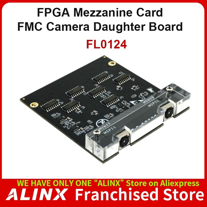 ALINX FL0214: Dual Lens MIPI 1.3 Megapixel IMX214 CMOS Camera FMC Daughter Card for FPGA Board