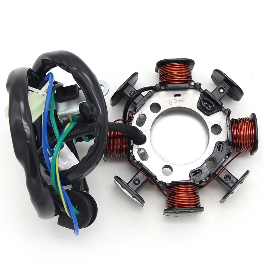 Accesorios de la motocicleta bobina del generador del estator del Motor para Yamaha 1C6-H1410-00 TTR230 TT-R230 1C6H141000 accesorios del Motor