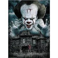 embroidery diamond painting horror movie film clown zombie drills jewel cross stitch diy paint full diamond paint kit