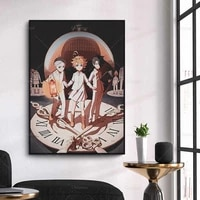 hd print painting home decor anime canvas poster modular 1 panel pictures promise neverland modern living room no frame wall art