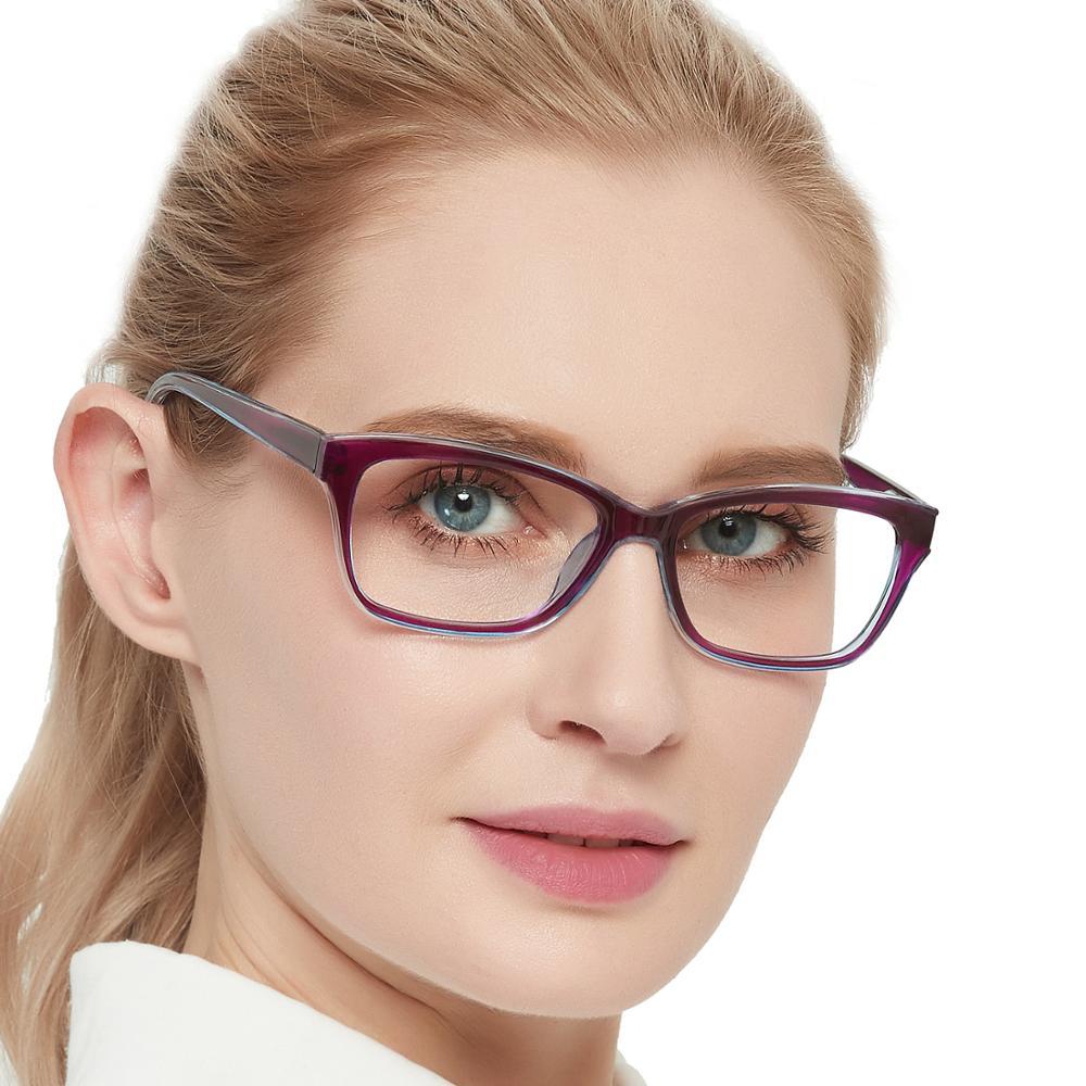 Gafas de lectura para mujer, gafas de bloqueo de luz azul, lupas de aumento, lentes para ordenador, óculos de leitura + 1,5 MARE AZZURO