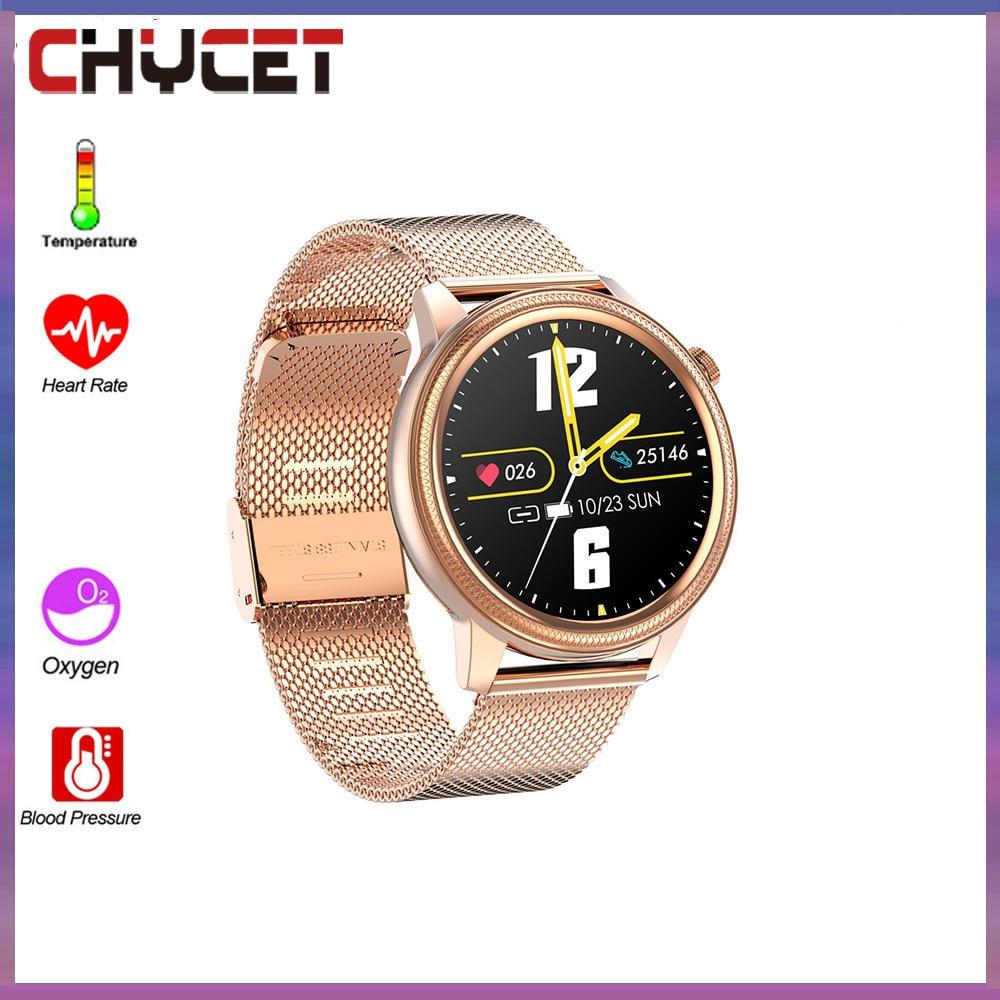 Promo CHYCET NEW Sport Smartwatch Men Women Smart Watches Heart Rate Sleep Monitor Fitness Smart Watch  For Android IOS Huawei Xiaomi