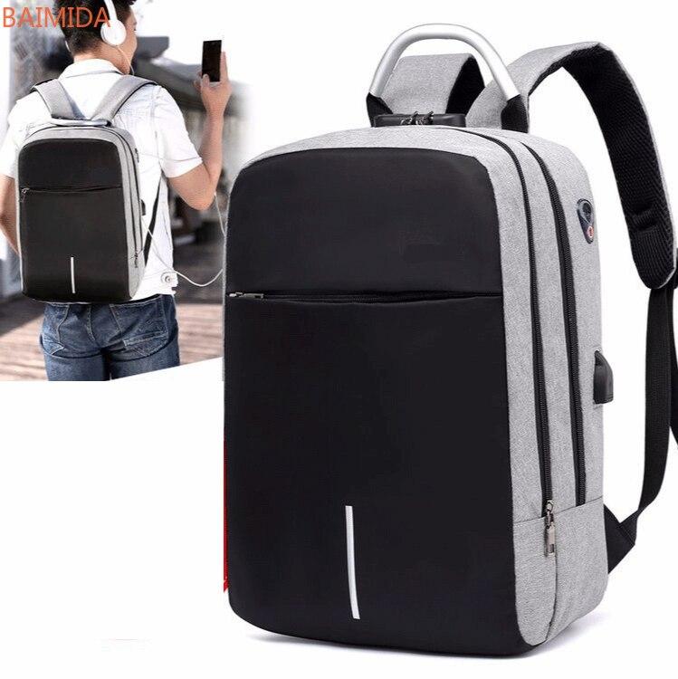 BAIMIDA 2021 mochilas para hombre fashion backpacks mochilas escolares laptop backpack bolso mochila mujer morrales para hombre