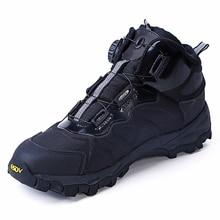 Atmungsaktive Männer Schuhe Armee Stiefeletten Sicherheit Taktische Militärische Kampf Stiefel außen Schnell reaktion stiefel BOA schnürung System