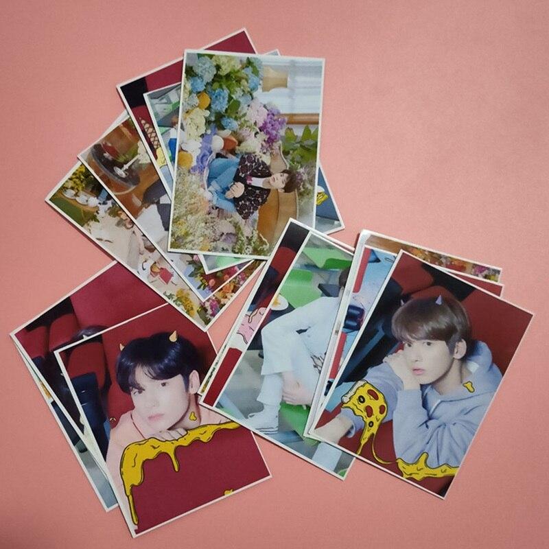 16 шт./компл. TXT мечта глава альбом ломо карты Новая мода сделал Бумага фото карты Фотокарта