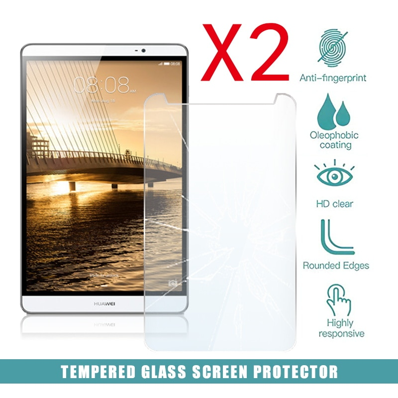 2pcs tablet tempered glass screen protector cover for acer iconia one 10 b3 a50fhd anti screen breakage tempered film 2Pcs Tablet Tempered Glass Screen Protector Cover for Huawei Mediapad M2 8.0 Anti-Fingerprint Anti-Screen Breakage Tempered Film