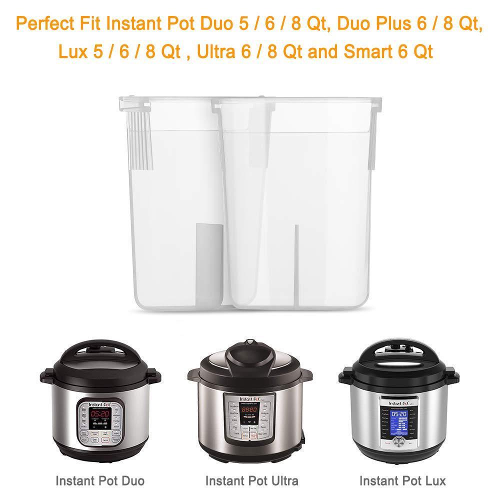2 stücke Kondensation Sammler Tasse Ersatz für Instant Topf 5 6 8 Quart Duo Duo Plus Ultra Lux