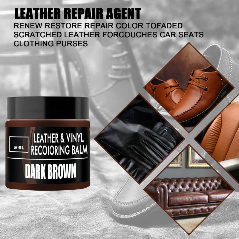 Крем для ремонта кожаных сидений, автомобильные диваны, пальто, кожаный виниловый Набор для восстановления и ремонта, средство для полировк...