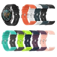 for huami amazfit gtr 47mm pace stratos 22s silicone watch strap band men smart sport wrist band for huawei gt watch band 46mm