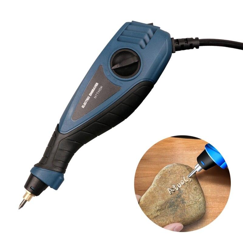 مثقاب كهربائي مصغر ونقش بالقلم الأوروبي بمقبس 2 في 1 ، ماكينة نحت كهربائية ، لنحت وتزيين النصائح على الخشب المعدني