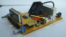 Kits de bricolaje 1W/7W transmisor FM boadcast PCB 76M-108MHZ estéreo transmisor PLL FM suite kits DIY