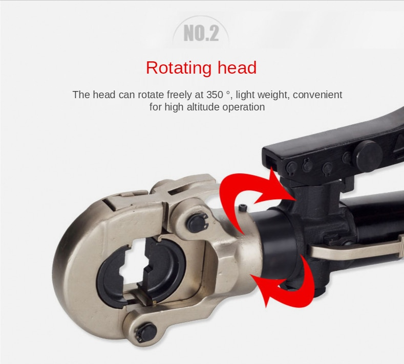 Integral Crimping Tool HZ-300 Hydraulic Crimping Tool Hexagon Crimping 16-300mm2 enlarge