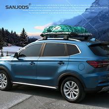 SANJODS Autobox Roof  Box Car Big Capacity Roof Rack Aluminum Roof Box-265 Lb Stylish And Versatile Roof Basket For Bulky Cargo