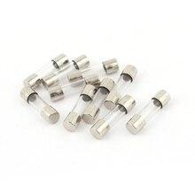 10 pièces 250 V 250 mA 0.25 A fusible à action rapide 5x20mm tube de verre