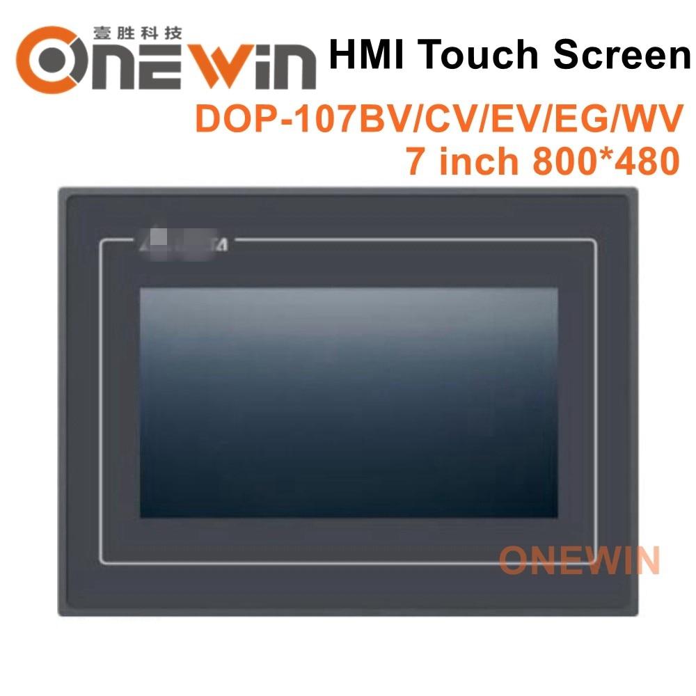 دلتا DOP-107BV DOP-107CV DOP-107EV DOP-107EG DOP-107WV HMI شاشة تعمل باللمس 7 بوصة الإنسان آلة واجهة عرض